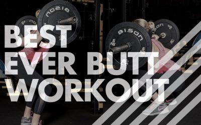 Best Ever Butt Workout