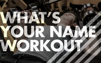 What's Your Name Workout With Video