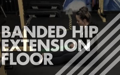 Banded Hip Extension – Floor
