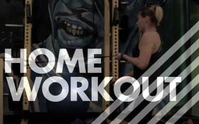 10/8/6 Drop Sets – Home Workout Version – Workout 2
