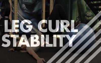 Leg Curl – Stability Ball