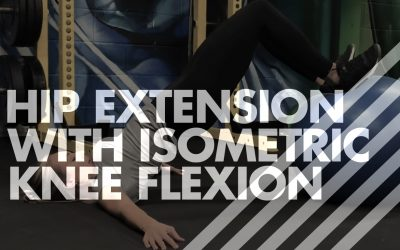 Hip Extension with Isometric Knee Flexion – Stability Ball