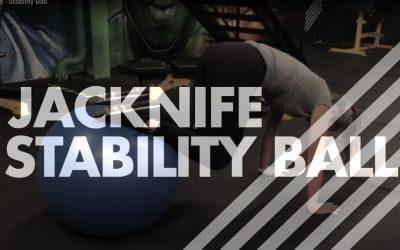 Jacknife – Stability Ball
